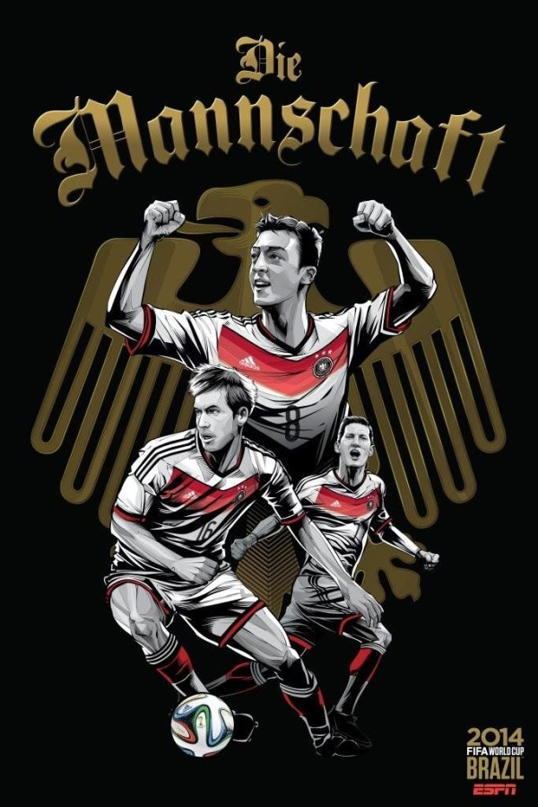 germany poster 2014 world cup